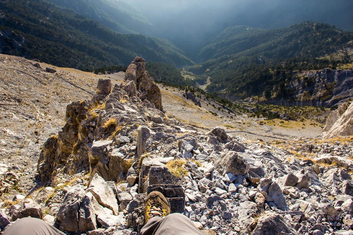 Klettersteigen... steep!