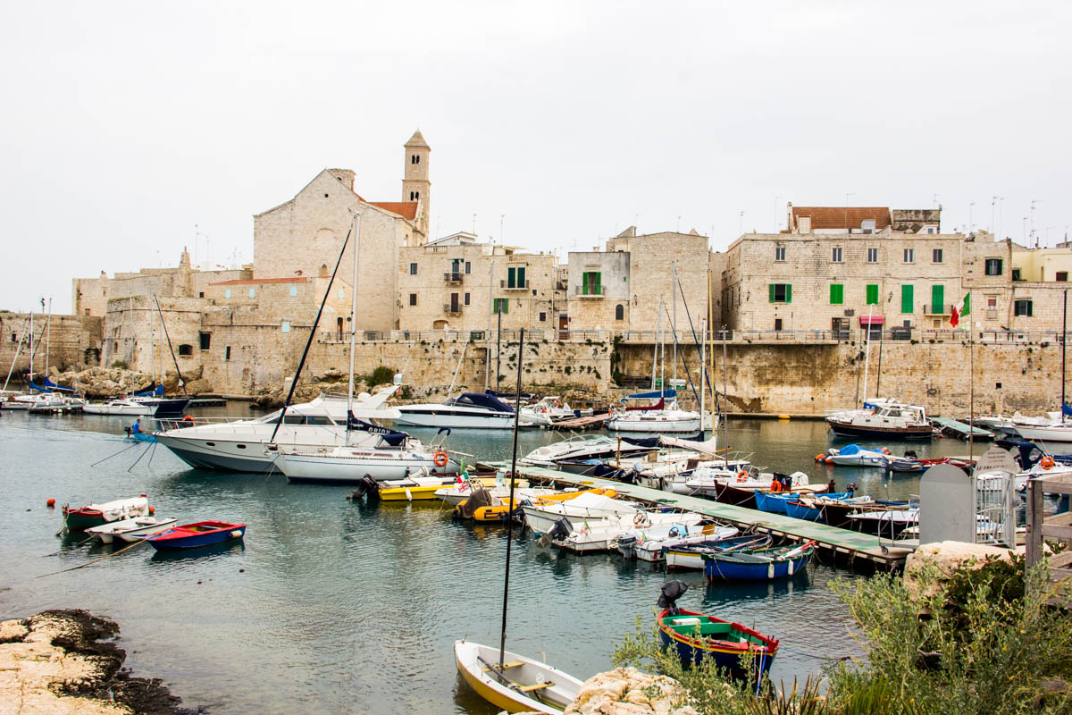 A very nice lunch in this hidden gem: Giovinazzo village