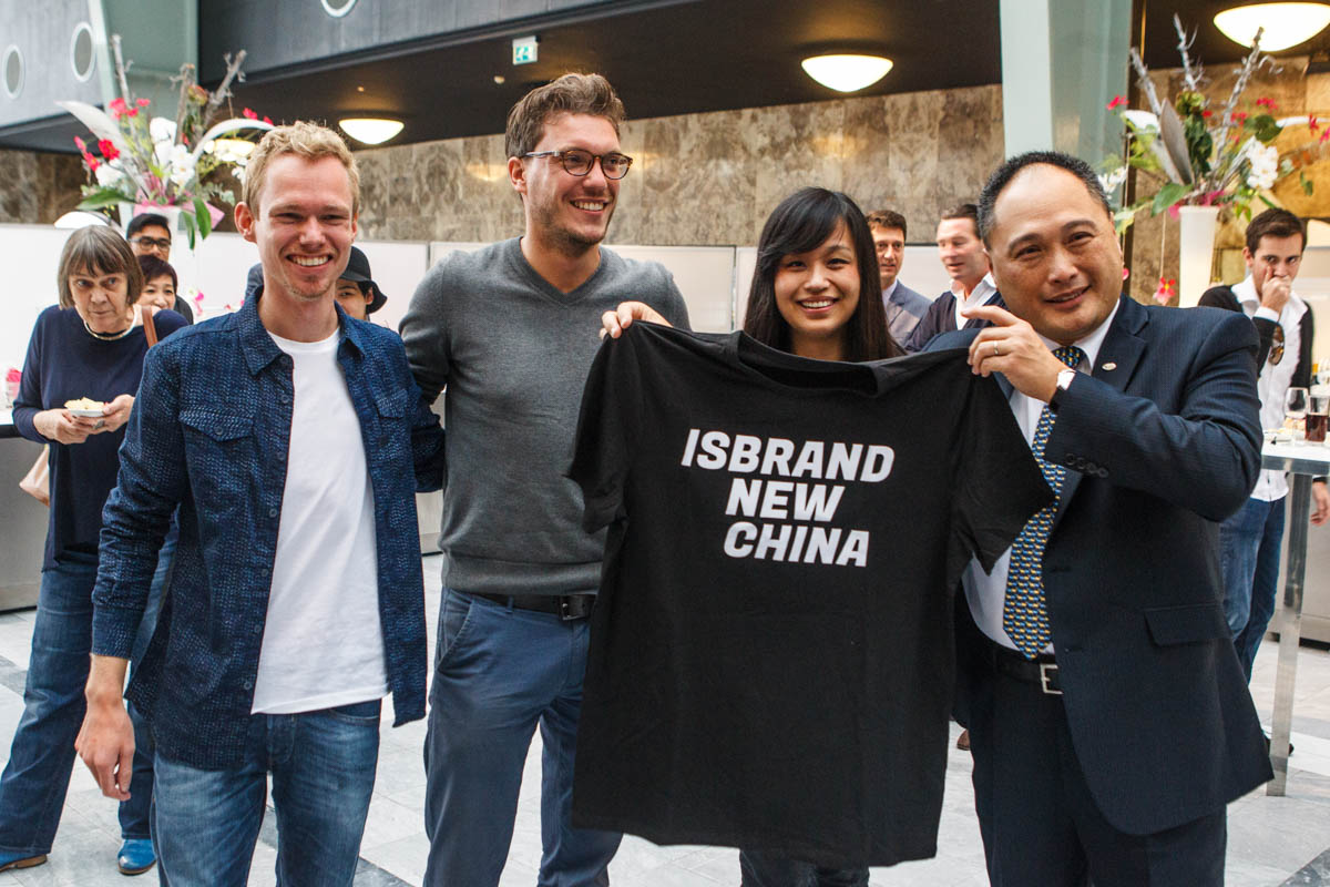 Little joke from our side with the name of Mr. Isbrand Ho from BYD