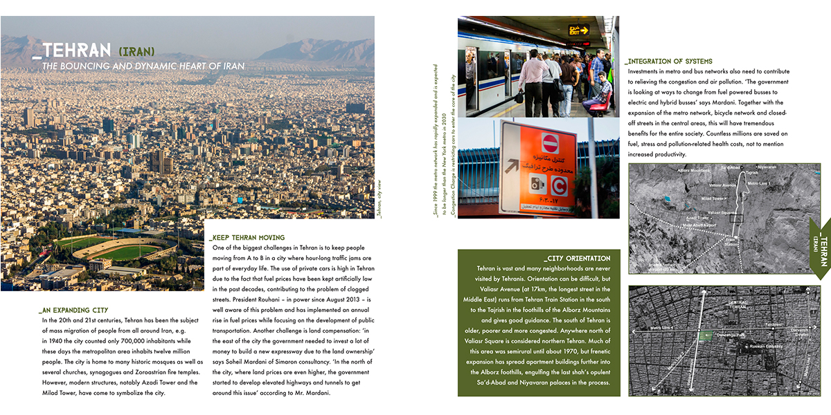 Spread in the Tehran chapter
